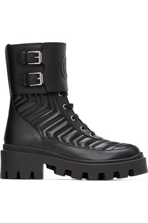 Gucci Women Ankle Boots - Interlocking G Ankle Boots