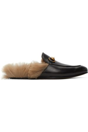 Gucci Horsebit Princetown Slip-On Loafers