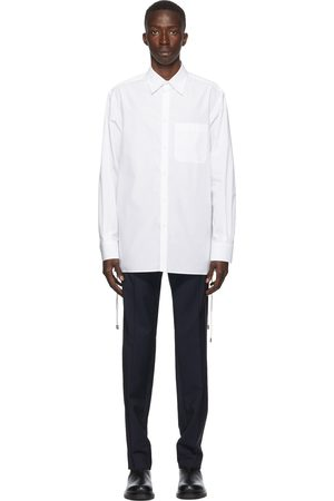 VALENTINO Cord Weave Long Sleeve Shirt