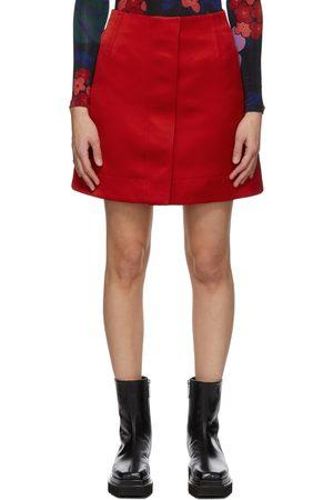 Meryll Rogge Silk Front Placket Skirt