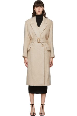 Foundrae Wool Raw Edge Coat