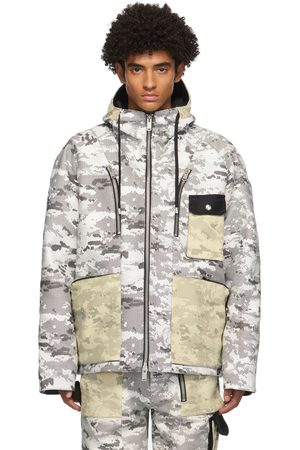 ADYAR Men Jackets - SSENSE Exclusive and Camo Shell Jacket