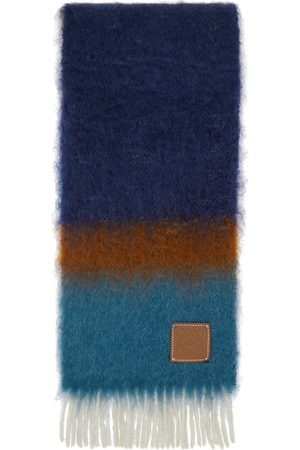 Loewe And Mohair Stripe Scarf