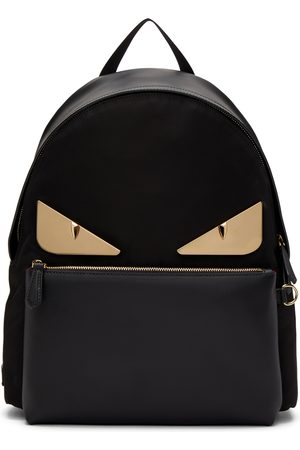 Fendi Leather Bag Bugs Backpack