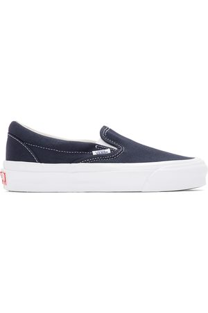 Vans Navy OG Classic Slip-On LX Sneakers