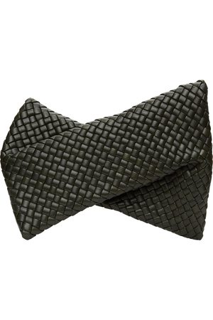 Bottega Veneta Khaki Intrecciato The Crisscross Clutch