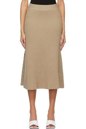 Bottega Veneta Wool Rib Skirt