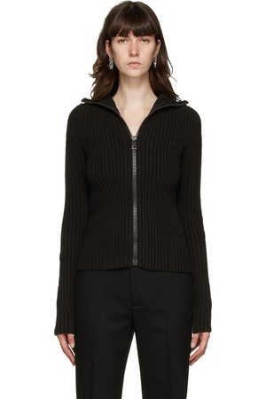 Bottega Veneta Women Hoodies - Wool Cardigan