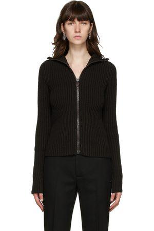 Bottega Veneta Women Hoodies - Wool Cardigan