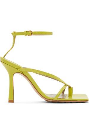 Bottega Veneta Strappy Stretch Heeled Sandals