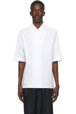 Bottega Veneta Cotton Poplin Short Sleeve Shirt
