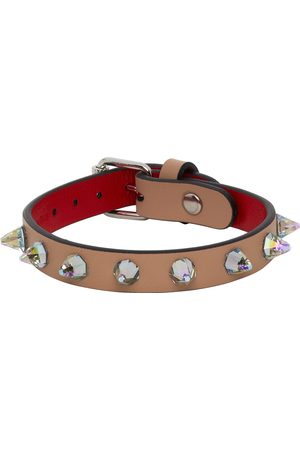 Christian Louboutin Crystal Loubilink Bracelet