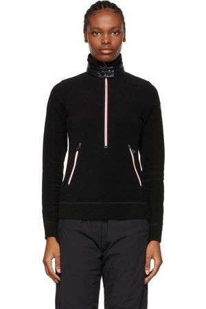 Moncler Zip Mock Polo Neck Guard Sweatshirt