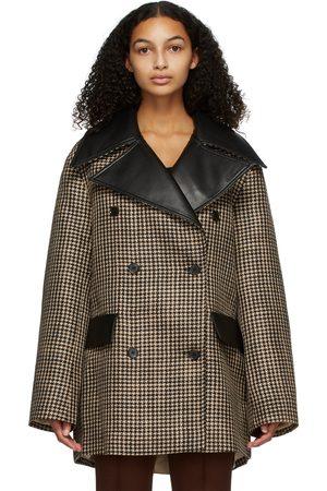 Nanushka Houndstooth Tommi Jacket