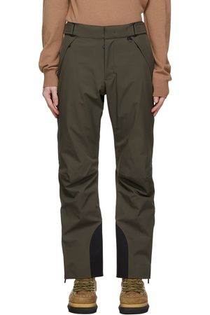 Moncler Men Ski Suits - Khaki Ski Trousers