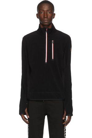 Moncler Fleece Half-Zip Jacket