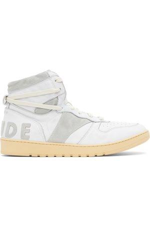 Rhude Men Sneakers - And Grey Rhecess Hi Sneakers