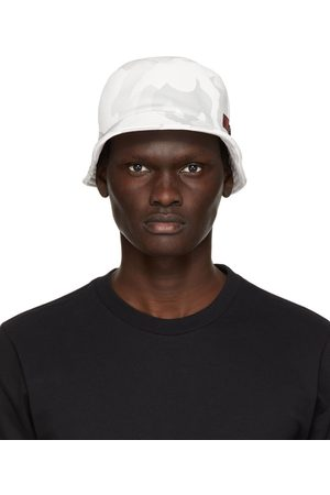 Dolce & Gabbana Off- and Grey Camo Bucket Hat