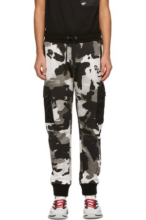 Dolce & Gabbana And Camouflage Jogging Cargo Pants