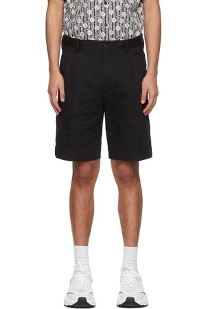 Dolce and Gabbana Double-Pleated Shorts