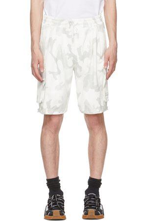 Dolce and Gabbana Men Bermudas - And Grey Camo Bermuda Shorts