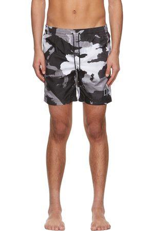 Dolce and Gabbana And Grey Camo Swim Shorts