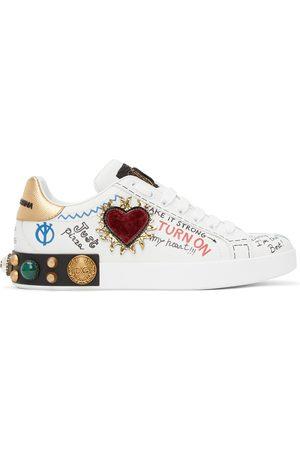 Dolce & Gabbana Printed Portofino Sneakers