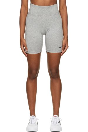Nike Grey Sportswear Leg-A-See Bike Shorts