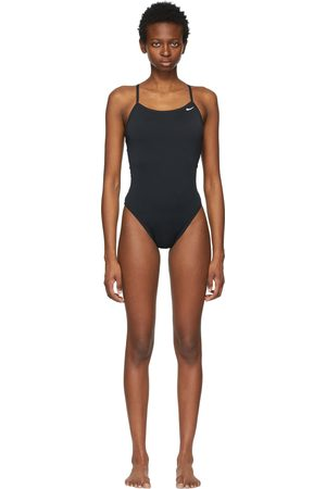 Nike Women Swimsuits - Lace-Up Tie-Back One-Piece Swimsuit