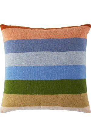 THE ELDER STATESMAN Stripe Pillow