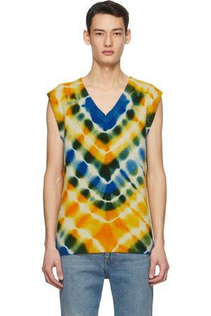 THE ELDER STATESMAN SSENSE Exclusive Multicolor Heavy Vest