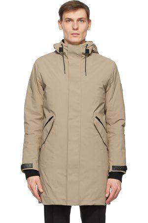Mackage Men Rainwear - Tan Hektor 2-In-1 Rain Coat