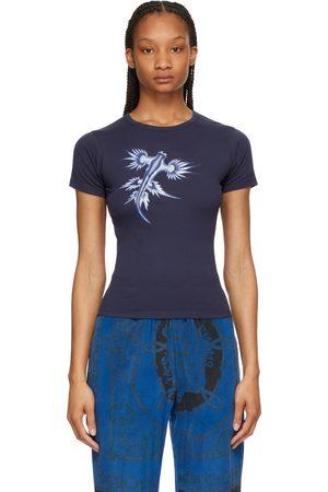 Marine Serre Navy Glaucus Mini T-Shirt