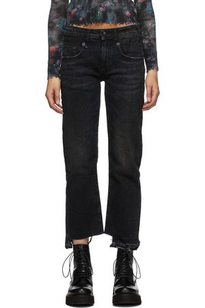 R13 Uneven Cuffs Boy Jeans