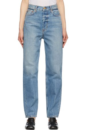 B SIDES Claude High Taper Jeans