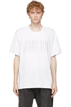DOUBLET Chain Fringe Embroidery T-Shirt