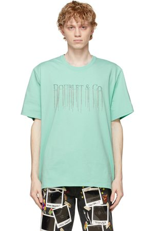 DOUBLET Men T-shirts - Chain Fringe Embroidery T-Shirt