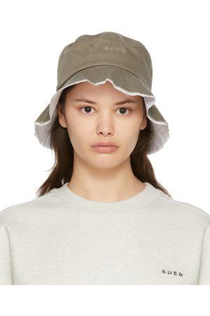 Ader Error Women Hats - Khaki 04 Bucket Hat