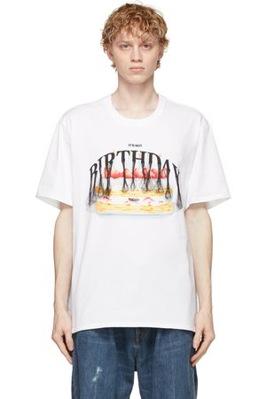 DOUBLET Men T-shirts - Not Birthday Embroidery T-Shirt