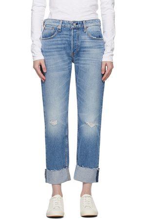 RAG&BONE Nina Mid-Rise Boyfriend Jeans