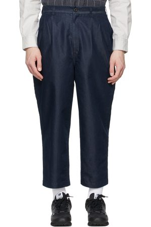 Comme des Garçons Indigo Denim Garment-Treated Trousers