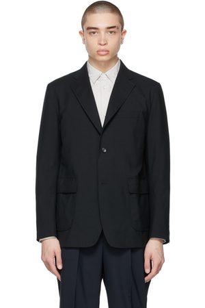 Comme des Garçons Tropical Wool Single-Breasted Blazer