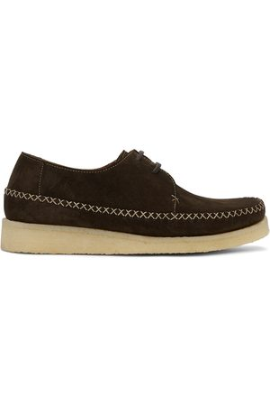 Comme des Garçons Padmore and Barnes Edition Suede Loafers