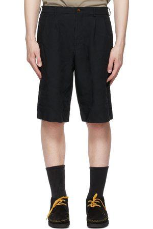 Comme des Garçons Pleated Bermuda Shorts