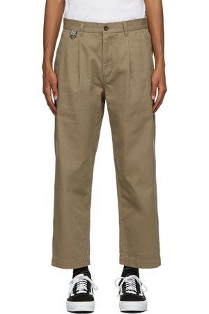 Double Rainbouu Men Pants - Khaki Paradise Trousers