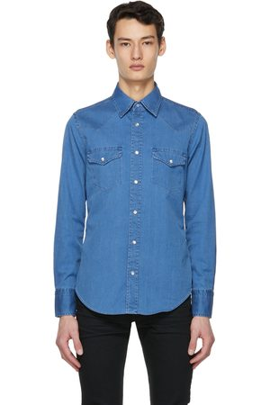 Tom Ford Denim Western Leisure Shirt