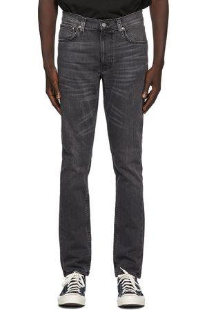 Nudie Jeans Men Jeans - Grey Lean Dean Jeans