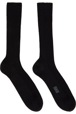 Tom Ford Cotton Ribbed Short Socks
