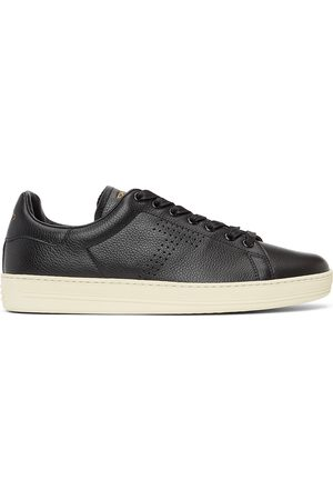 Tom Ford Grained Leather Warwick Sneakers