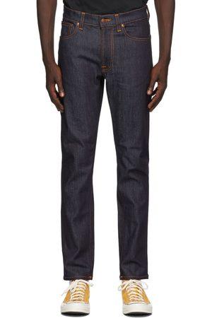 Nudie Jeans Men Jeans - Indigo Dry Lean Dean Jeans